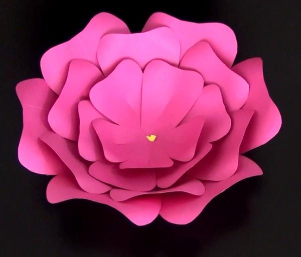 Cómo Hacer Una Flor Fácil