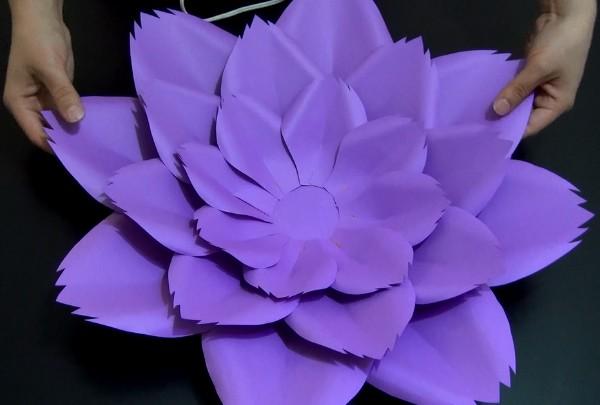 Cómo Hacer Flor De Papel Gigante