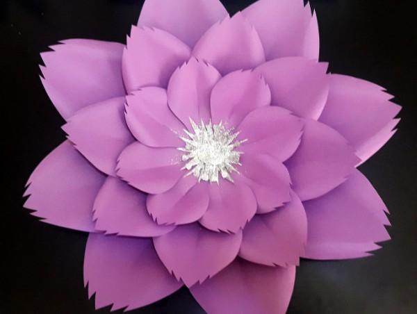 Como Hacer Flor De Papel Gigante